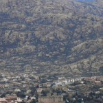 Castillo de Manzanares el Real con la Pedriza