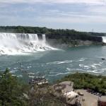 Cataratas del Rio Niágara vista desde el lado canadiense