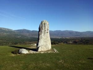 Monumento al Agente Forestal en Rascafria (Madrid)